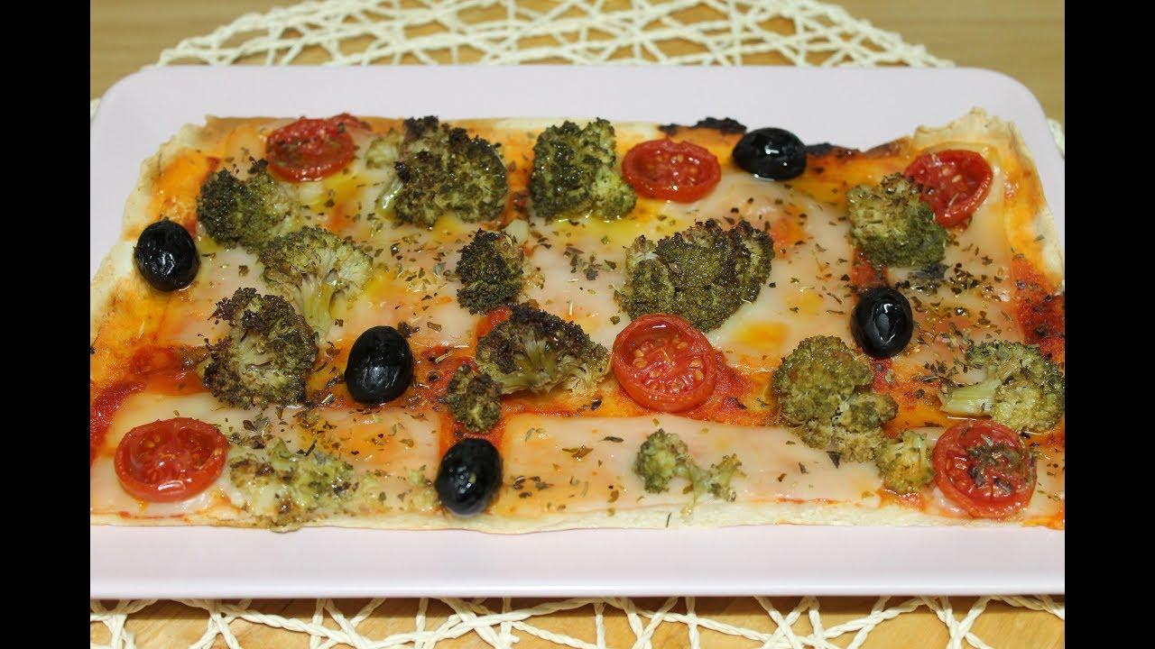 PIZZA VEGANA  (Sin Gluten , Sin Lactosa)