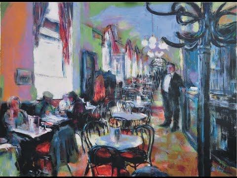 Secrets 7 - Cafe in Vienna - Acrylics