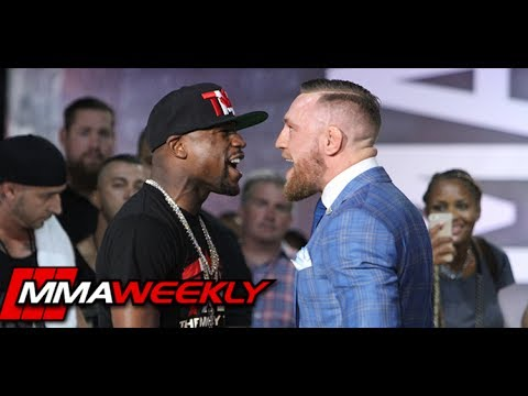 Floyd Mayweather vs Conor McGregor World Tour: Toronto (FULL Press Stop)