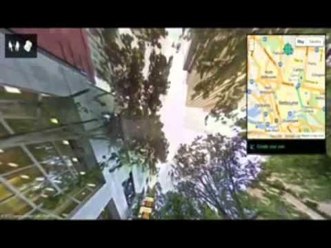 Melbourne Hyper-Lapse by Google Street View [HD]