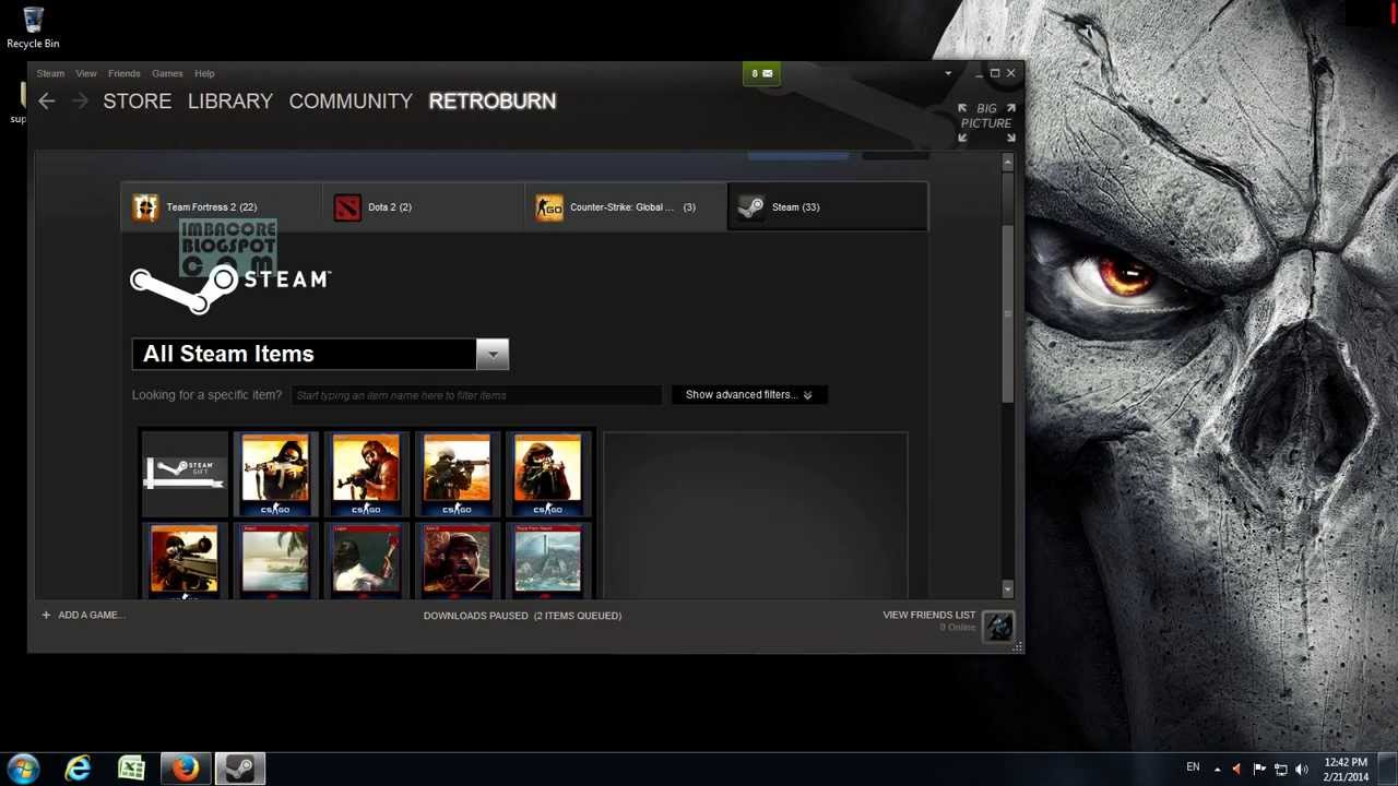 Steam Trading Cards: Crafting Counterstrike Global Offensive And Killing  Floor Badges   YouTube
