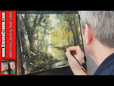 'The Fisherman' Watercolour Painting Tutorial