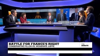 Battle for France's Right  Conservative Fillon vs  Moderate Juppé (part 1)