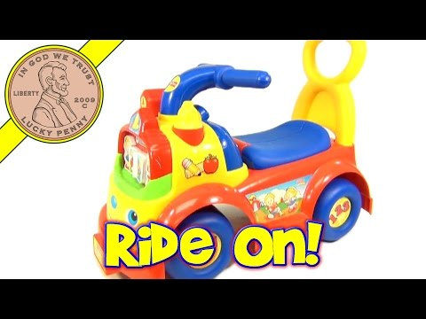 Fisher-Price Little People ABC 123 Ride On Fire Truck