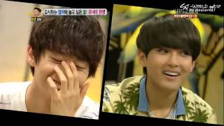 120723 Hello - The good and bad guys in Suju are?