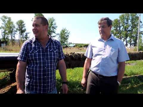 Очередной объезд мэра города Шимановск.