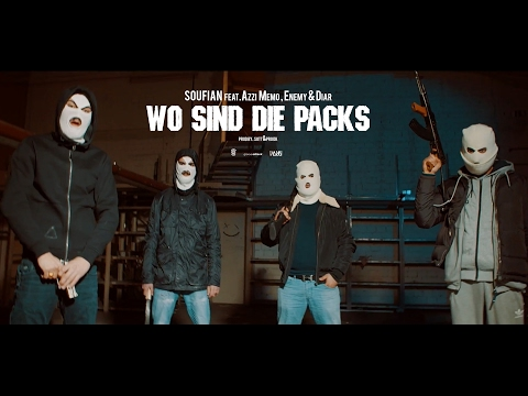 Soufian - WO SIND DIE PACKS ft. Enemy, Diar & Azzi Memo (prod. von SOTT & ProDK) [Official Video]
