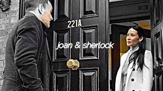 joan & sherlock | two people who love each other.