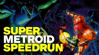 Gambar cover Super Metroid SPEEDRUN in 41 Minutes