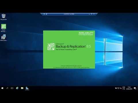 Configurando Backup De Hyperv No Veeam Backup Free