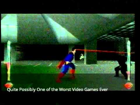 Superman the Video Game Commercial