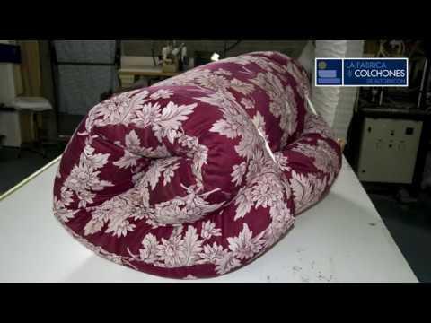 Colchones De Lana.Fabrica De Colchones Colchon De Lana Convertido En Sofa Cama