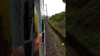 Train making a u turn (NEELACHAL SF EXPRESS TRAIN)