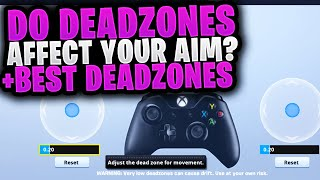 Do Deadzones Affect Your Aiming? Fortnite Sensitivity Explanation For Controller/Console Players