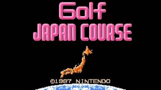 Family Computer Golf - Japan Course(FDS)(Japan)(DV 2) Intro(Take 2)(08-02-17)