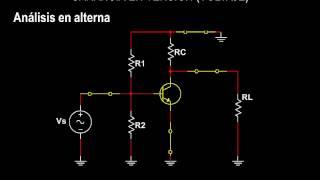 BJT Parte 11 Ganancia en Tensión y Modelos del Transistor, modelo pi, modelo T, amplificador BJT