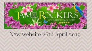 Tamilrockers new website 26th April 2019