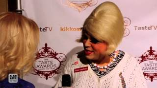 Taste Awards 2014 Red Carpet Interview with Trailer Park Queen Jolene Sugarbaker