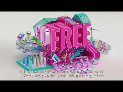 Three Prepay - €10 Free Credit Every Month