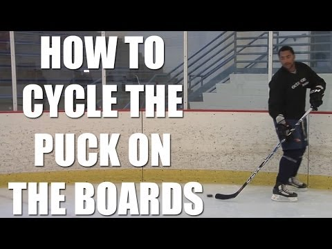 Hockey Tips: How to Cycle the Puck on the Boards