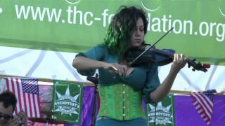 Seattle Hempfest 2014: Tina Hendrix - Star Spangled Banner (Share Parker Memorial Stage)