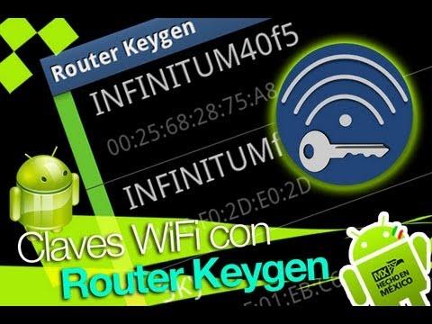 como usar wifi keygen app