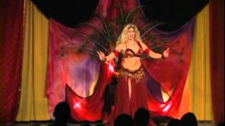 Sedona of Belly Dance Soulfire DRUM Solo