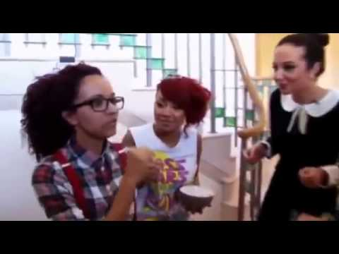 Jade says superbass in her geordie accent