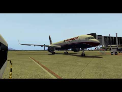 X Plane10 Flight Factor B752 Rio SBGL  Santiago SCEL Part1