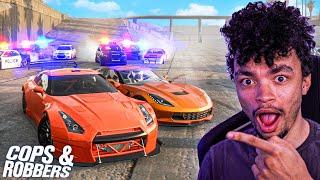 COPS & ROBBERS in CarX Drift Racing Online!