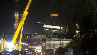 Video Amtrak train derailment investigation download MP3, 3GP, MP4, WEBM, AVI, FLV Agustus 2018