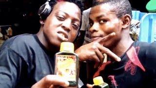 "Nigerian Comedy: we taste Area Boy ""Street Gin"" - so you don"