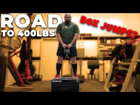 400+ POUND MAN DOES BOX JUMPS?| WEIGHT LOSS JOURNEY ROAD TO 400 POUNDS