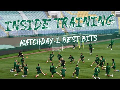 INSIDE TRAINING   Match-day - 1 v Bulgaria   Highlights from the Vasil Levski Stadium
