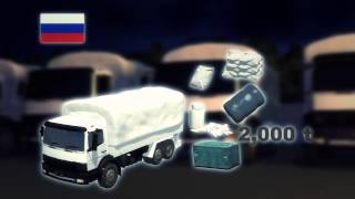 Ukraine crisis 2014: Russian aid convoy believed to cover a military operation