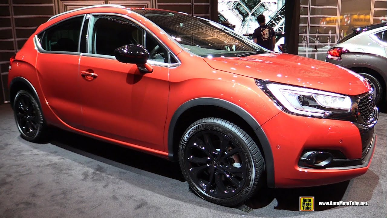 2016 citroen ds4 crossback exterior and interior walkaround 2015 tokyo motor show youtube. Black Bedroom Furniture Sets. Home Design Ideas