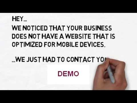 give you a MOBILE WEBSITE WHITEBOARD VIDEO