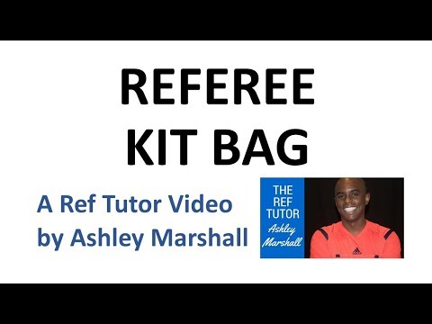 Law 5: The Referee's Kit Bag