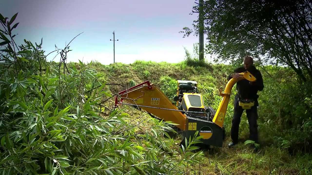 Robocut mcconnel robocut wood chipper - youtube