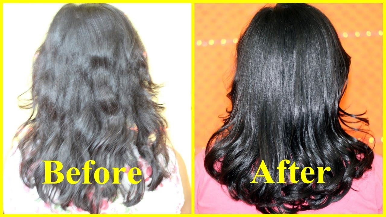 instant hair serum for super glossy shiny hair in 1 min/ homemade