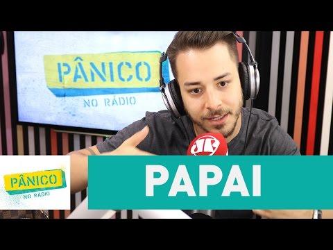 """Emílio é sincero ao Junior Lima dizer que vai ser pai: """"puta cagada hein"""""""