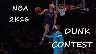 NBA 2K16 Slam Dunk Contest PC Gameplay HD