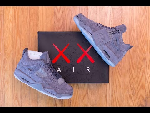 When Art Meet Sneakers || Air Jordan 4 by KAWS Review