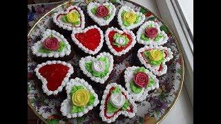 Шоколадные пирожное