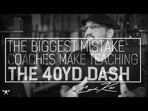 The Biggest Mistake Coaches Make Teaching The 40-Yard Dash | Elitefts.com