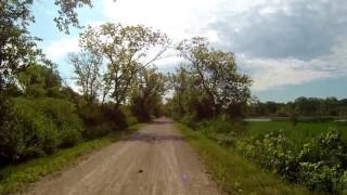 Glacial Drumlin State Trail (Eastbound) Cottage Grove to Waukesha, WI - Part 1