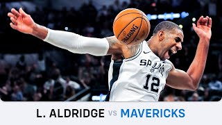 LaMarcus Aldridge's Highlights: 24 PTS, 4 BLK, 3 STL, 2 AST, 2 REB Vs Mavericks (10.03.2020)