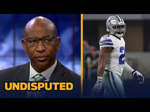 Eric Dickerson joins Skip and Shannon to talk about his bet with Ezekiel Elliott | UNDISPUTED