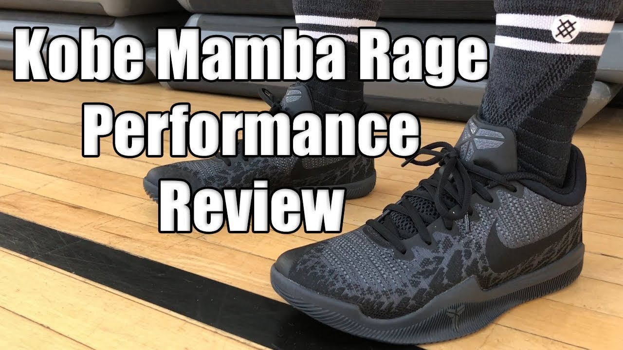 cfacfe242827 Nike Kobe Mamba Rage Performance Review - YouTube