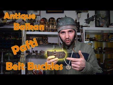 Antique European - Balkan PAFTI Belt Buckles